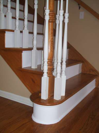 The Stair Treads Are U0027right Hand Mitred And Left Hand Miteredu0027